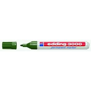 EDDING Permanentmarker 3000 olivgrün 1,5-3mm