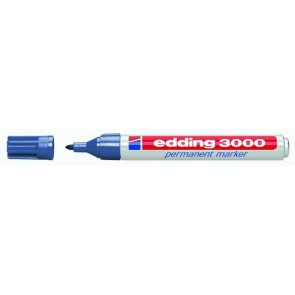 EDDING Permanentmarker 3000 stahlblau