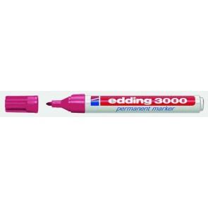 EDDING Permanentmarker 3000 carmin