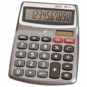 GENIE Tischrechner 540 10272 grau DUAL-Power