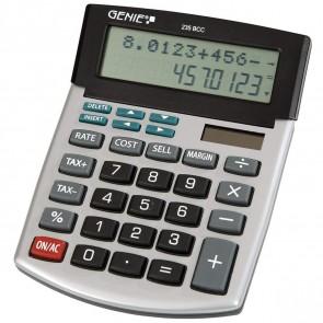 GENIE Tischrechner 235 BCC 12-stellig, 2-zeilig