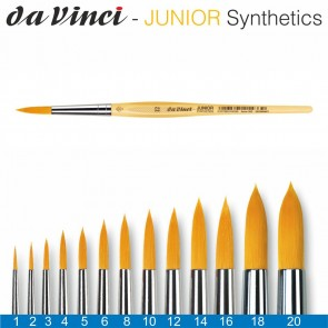 DA VINCI Haarpinsel Junior Synthetics Gr. 1