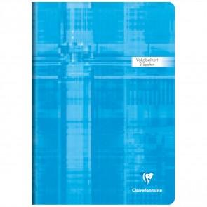 CLAIRFONTAINE Vokabelheft A4 3 Spalten 40 Blatt