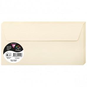 POLLEN Briefumschlag DL 5445C elfenbein / sand 120g 20 Stück