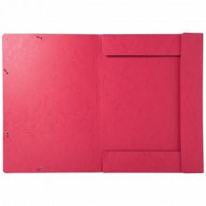 EXACOMPTA Sammelmappe A3 mit Gummizug rot extra stark 600g