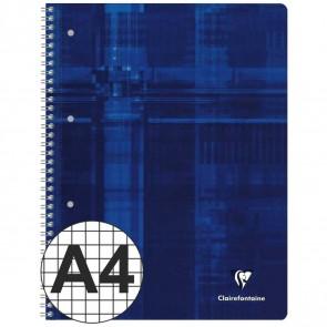 CLAIREFONTAINE Collegeblock PREMIUM A4 80 Blatt kariert Doppelrand LIN 28 90g