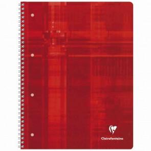 CLAIREFONTAINE Collegeblock PREMIUM A4 80 Blatt blanco LIN 20 90g