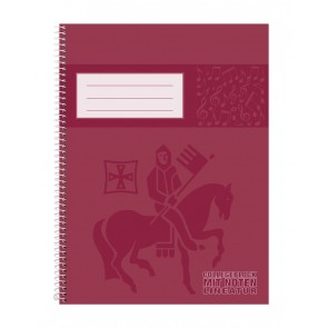STAUFEN Collegeblock 46715 A4 90g 50 Blatt Notenlineatur