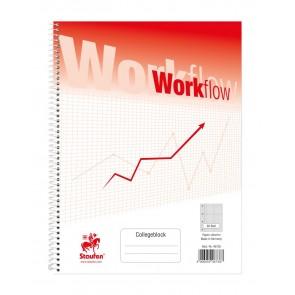 Collegeblock Workflow A4 80Bl kariert