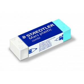 STAEDTLER Radiergummi für Tinte + Bleistifte blau/weiß