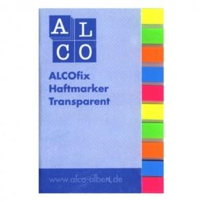 ALCOfix Haftmarker 10x40 Stück Folie 5 verschiedene Farben