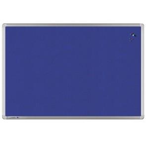 LEGAMASTER Pinboard UNIVERSAL 60 x 90 cm Textil blau