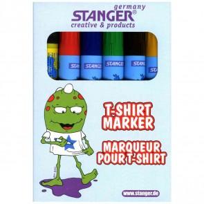 STANGER T-Shirt Marker 6 Farben sortiert 1-3mm