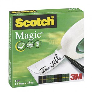 Scotch Klebefilm Magic 810 M8101233 12mmx33m unsichtbar