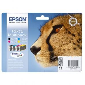 Epson Tintenpatrone C13T07154010 sw/c/m/y 4 St./Pack.