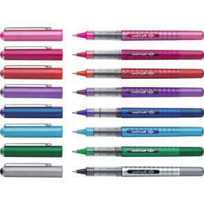FABER CASTELL uniball eye fine DESIGN UB-157 8 Stück Mix-Pack