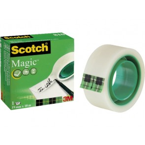 SCOTCH Klebeband Magic Tape  810 19mm x 10m unsichtbar