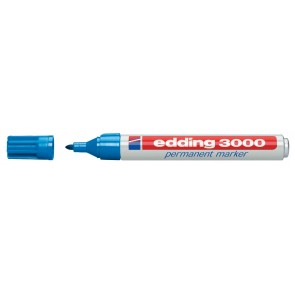 EDDING Permanentmarker 3000 hellblau 1,5-3mm