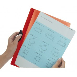 DURABLE Klemmappe DURACLIP A4 2200 bis 30 Blatt blau