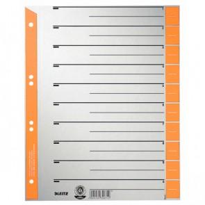 LEITZ Trennblätter 1652 A4 230g Tab orange