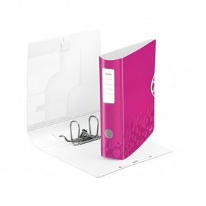 LEITZ Ordner Active WOW 1106 80mm pink metallic