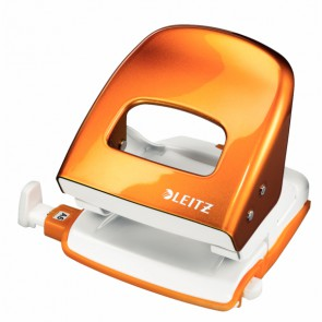 LEITZ Locher NeXXt 5008 Metall orange metallic bis 30 Blatt