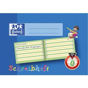Schreiblernheft A5quer 16Bl Lin0 perf. 2-fach Lochung