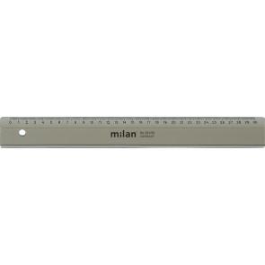 MILAN Lineal 531 30cm transparent rauch