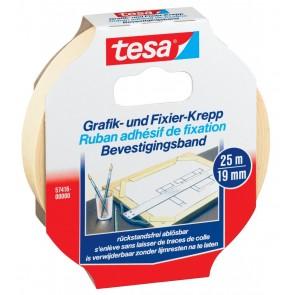 TESA Grafik & Fixierkrepp 57416 25m x 19mm
