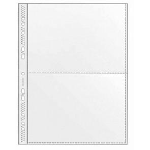 VELOFLEX Sammelhülle 5335 A4 auf 2 x A5 transparent 100 Stück
